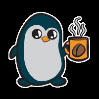 Kaffee Pinguin