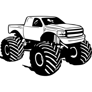 Monster Truck - Pickup - Big Foot