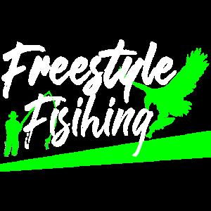 Freestyle fishing Angeln cool