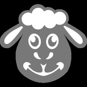 Schafe, die lustige Tiere zeichnen 40315