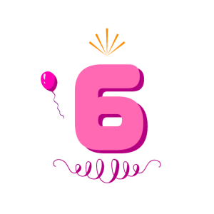 6. Geburtstag Mädchen