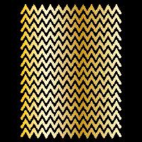 Goldene Wellen Abstrakte Linien Kunst Geschenk