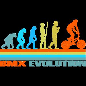 BMX Evolution retro Geschenk