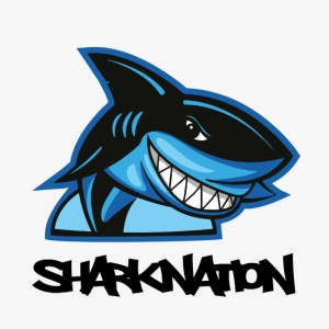 SHARKNATION / Black Letters