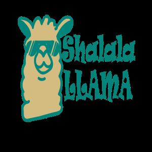Cooles Lama Alpaka Shalala Llama Fun Spruch Gesche