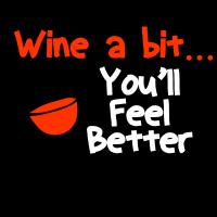 Wein Trinker Shirt für Mädelsabend