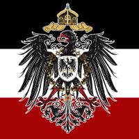 Deutscher Kaiser Willhelm Preußen Flagge Weltkrieg