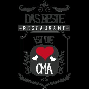 ♥ Das beste Restaurant ist die Oma ♥ (1001 SMILES)