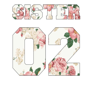 Schwester 02 Geschenk 2002 Zahl Geschenkidee