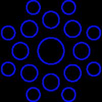Circular Kreise pattern Muster