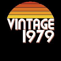 40. Geburtstag 40 Jahre Vintage Seit 1979 Geschenk