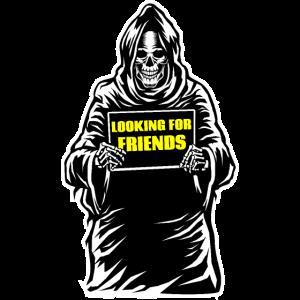 Sensenmann Freunde Reaper Schnitter Geschenkidee