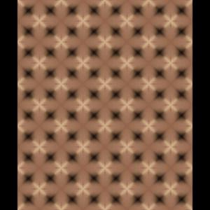 braune und schwarze Sterne Muster