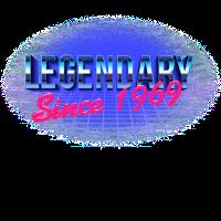 Legendary Since 1969 – 50. Geburtstag Bday