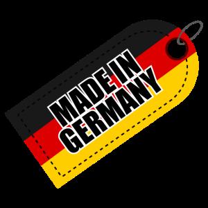 Made in Germany Deutsche Flagge - Geschenkidee