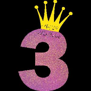 Happy Birthday 3 Jahre Alt Dritter Geburtstag Idee
