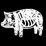 Cerdo Muerto - De Dödas Daladjur vit