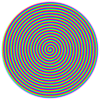Testbildspirale