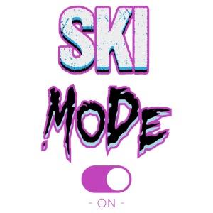 Ski mode-on