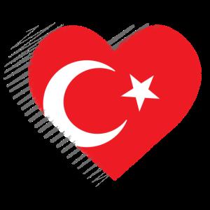 Türkei Herz Türkiye Nationalität
