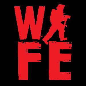 Ehefrau | Feuerwehrmann Feuerwehr Wife