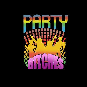 Junggesellinnenabschied Party Bitches Logo