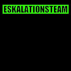 ESKALATIONSTEAM eskalieren party Geschenk Absturz