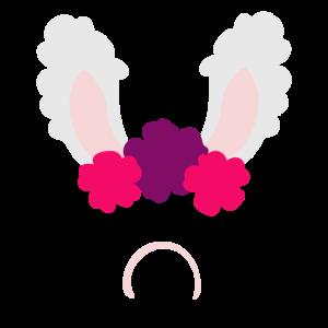 Lama Alpaka mit Blumen LLama Tierliebe Geschenk