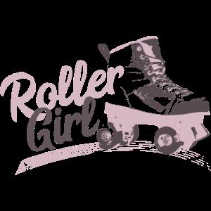 Roller Skating Girl Rollschuhe Sprüche Geschenk