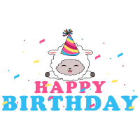 Geburtstag Lama