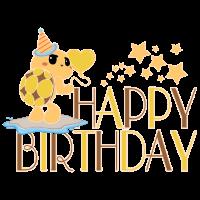 Geburtstag Schildkröte