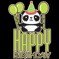 Geburtstag Panda