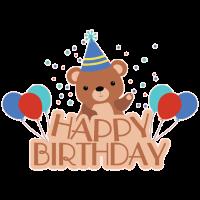 Geburtstag Bär