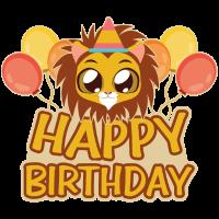 Geburtstag Löwe