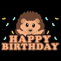 Geburtstag Igel