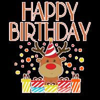 Geburtstag Hirsch