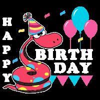 Geburtstag Schlange