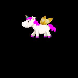 Einhorn mit Flügeln flying Unicorn Einhörner