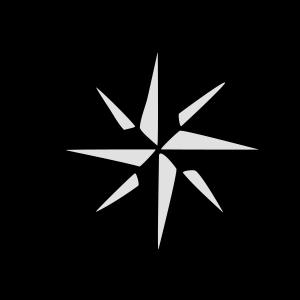 Windrose mit Himmelsrichtungen Segeln Segler
