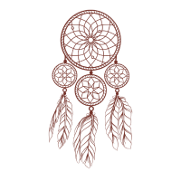 Dream-catcher Boho Traumfänger