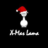 Lamas sind toll! Und Lamas feiern auch Weihnachten