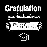 Gratulation zur bestandenen Prüfung