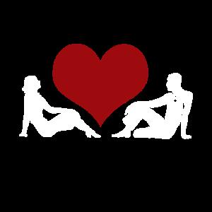 Beziehung Mann und Frau Herz Liebe