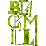 BLACKMILL large Fonts - green
