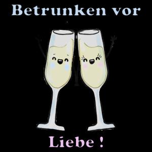 Betrunken Vor Liebe Valentinstag Geschenk Idee
