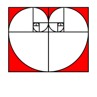Goldener Schnitt - Golden Ratio - Valentinstag