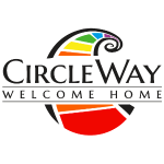 Circleway Welcome Home Logo - schwarz