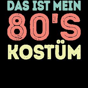 80s Retro Kostüm