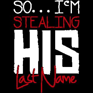 Sein Name gestohlen Partner Shirt Couble Shirt Lie