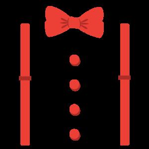 Hosenträger Fliege Anzug Smoking Geschenk
